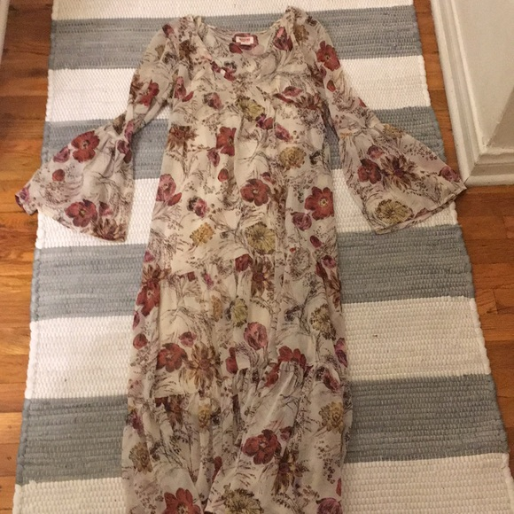 Mossimo Supply Co. Dresses & Skirts - High low floral boho maxi: BOGO w/ any F21 item!